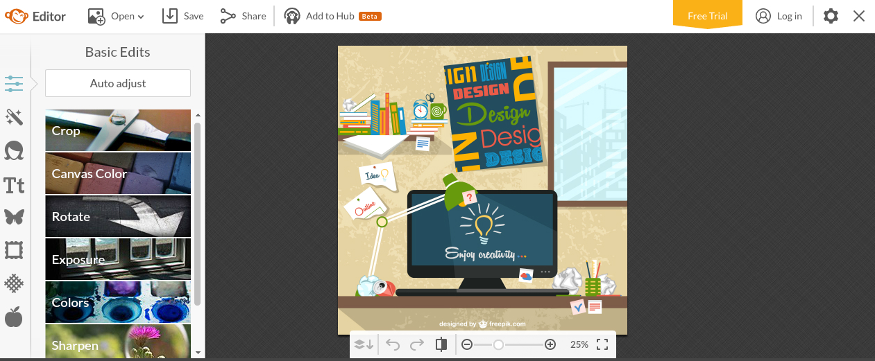 Herramientas edición contenido visual picmokey