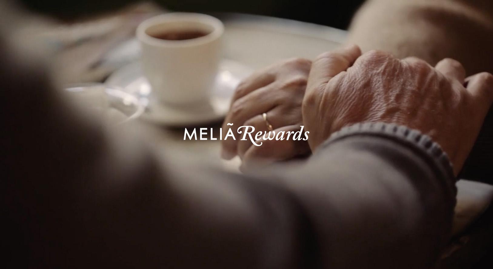 Melia rewards campaña 60 aniversario detalle café argentina