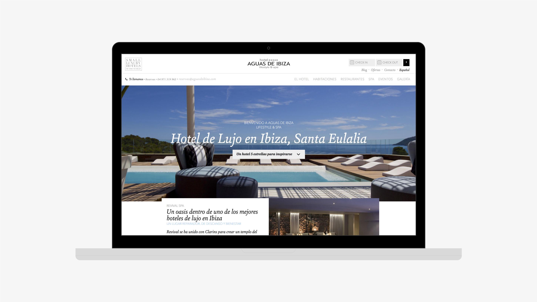 Aguas de Ibiza web home