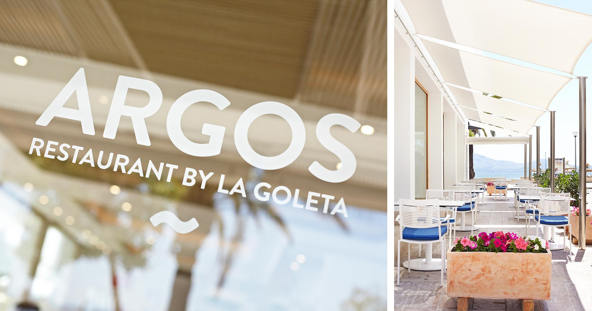 La Goleta hotel de mar branding argos restaurante