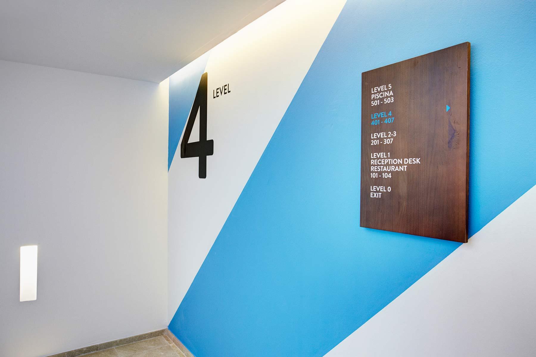 La Goleta hotel de mar identidad visual señalética