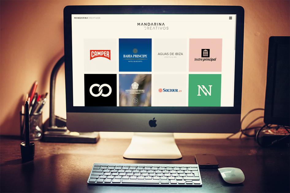 Mandarina cómo crear una web