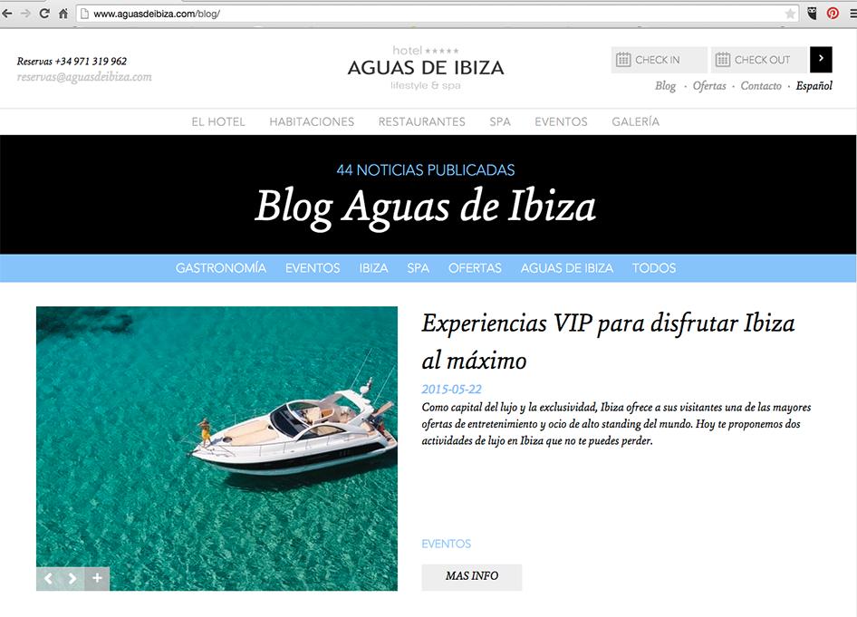 Cómo crear una web blog