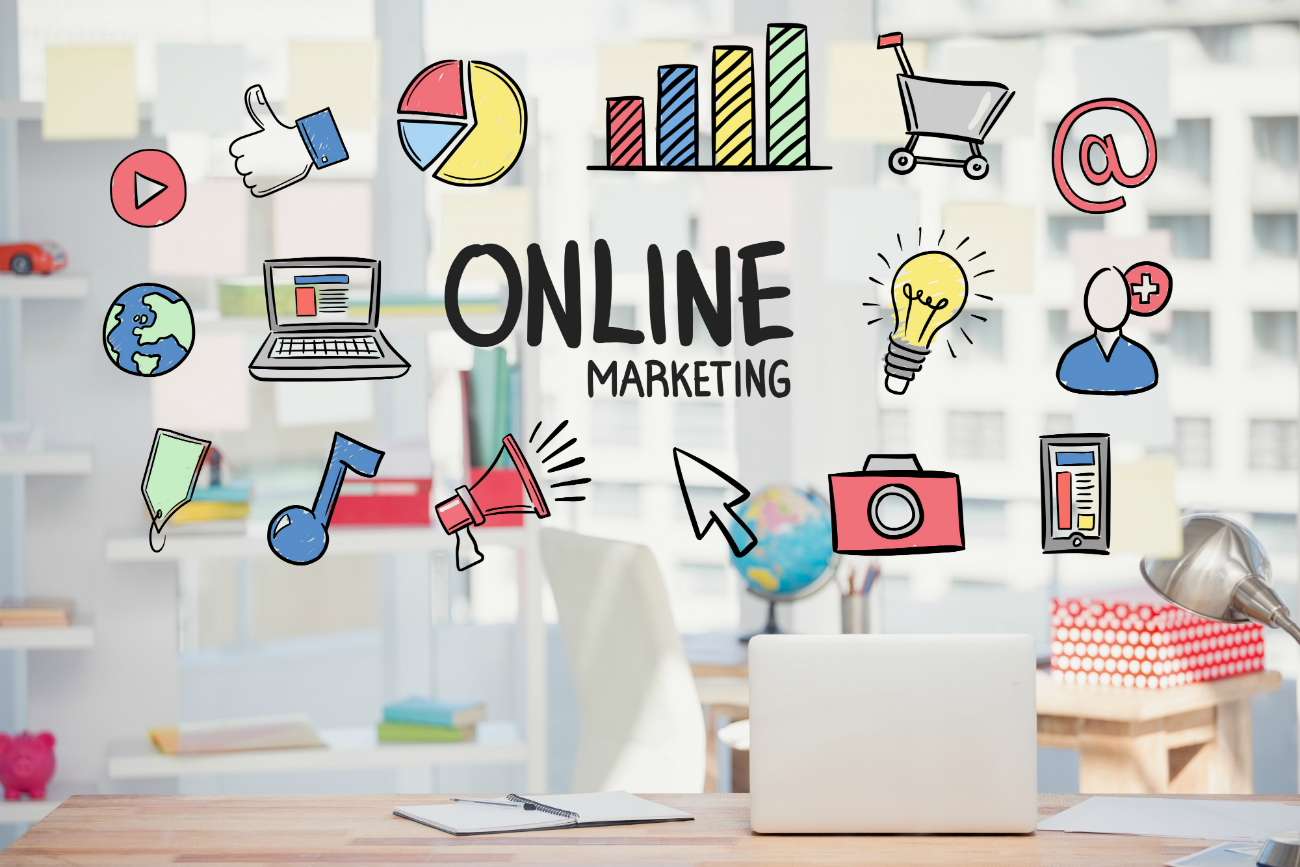 Contenido visual online marketing