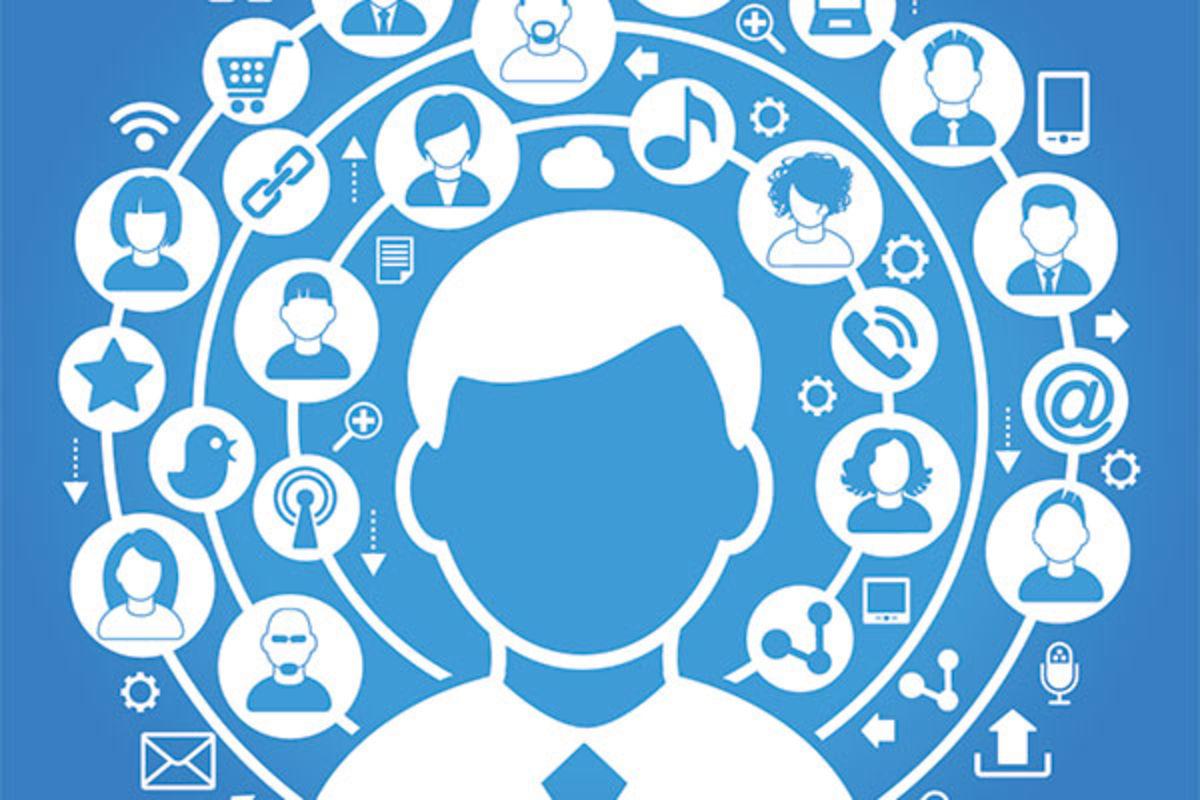 Elegir redes sociales empresa esquema