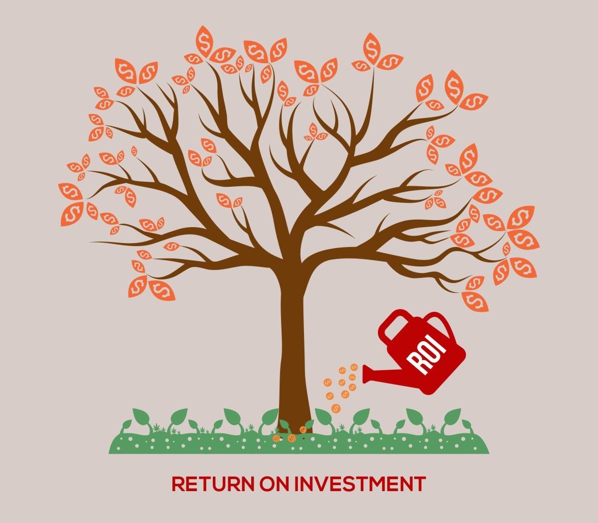 ROI return of investment tree