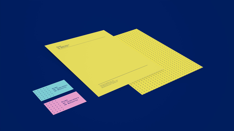 Gremi llibreters identidad visual papelería