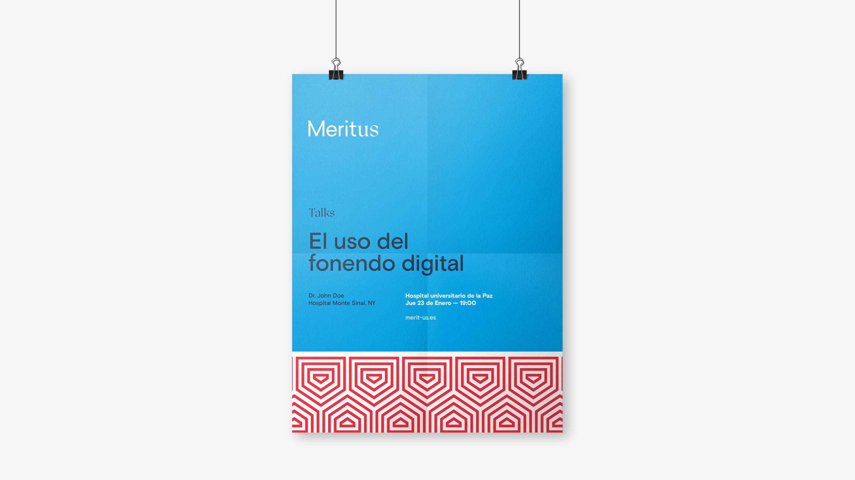 MeritUs branding web poster