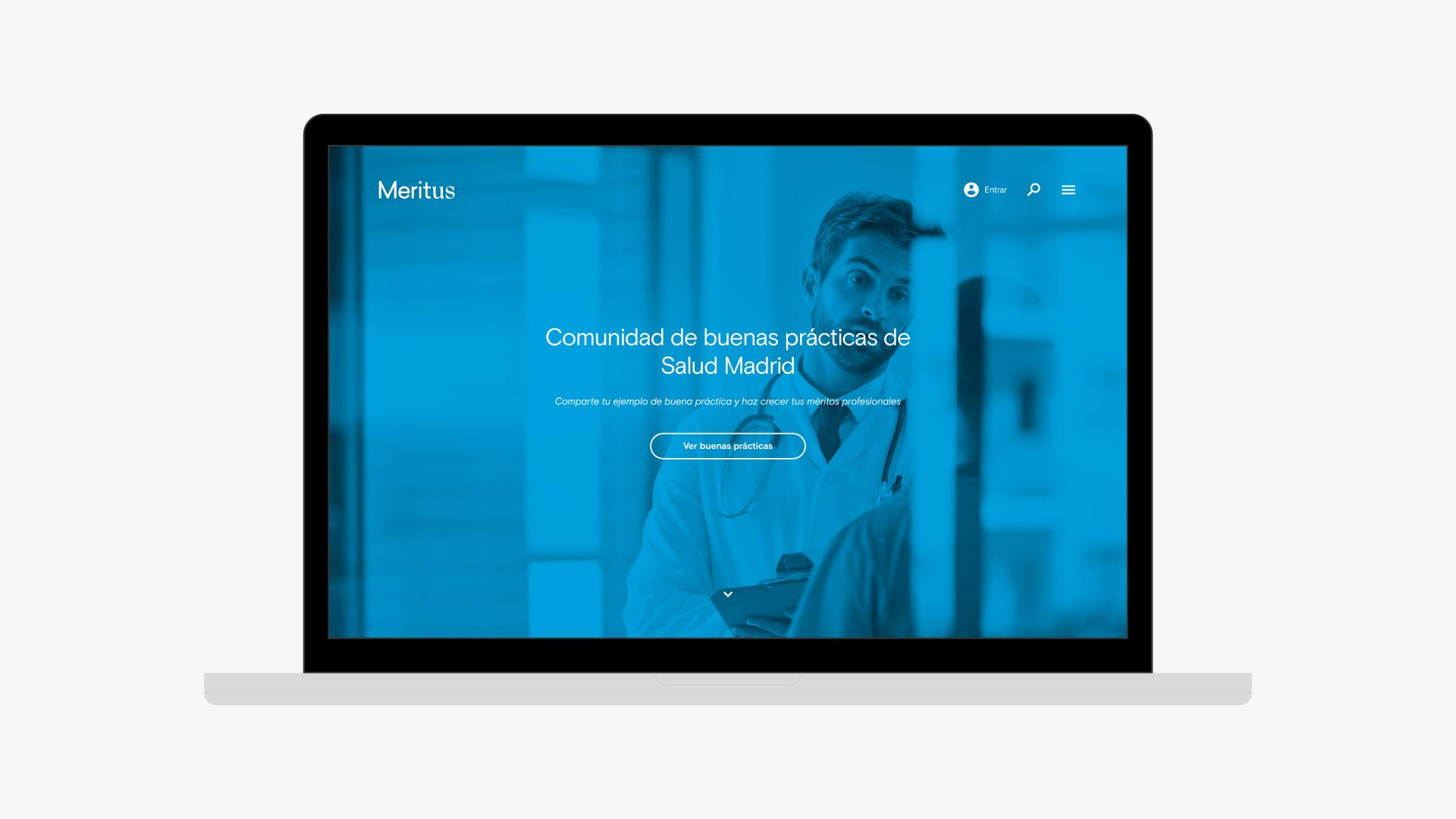 MeritUs marca web buenas prácticas
