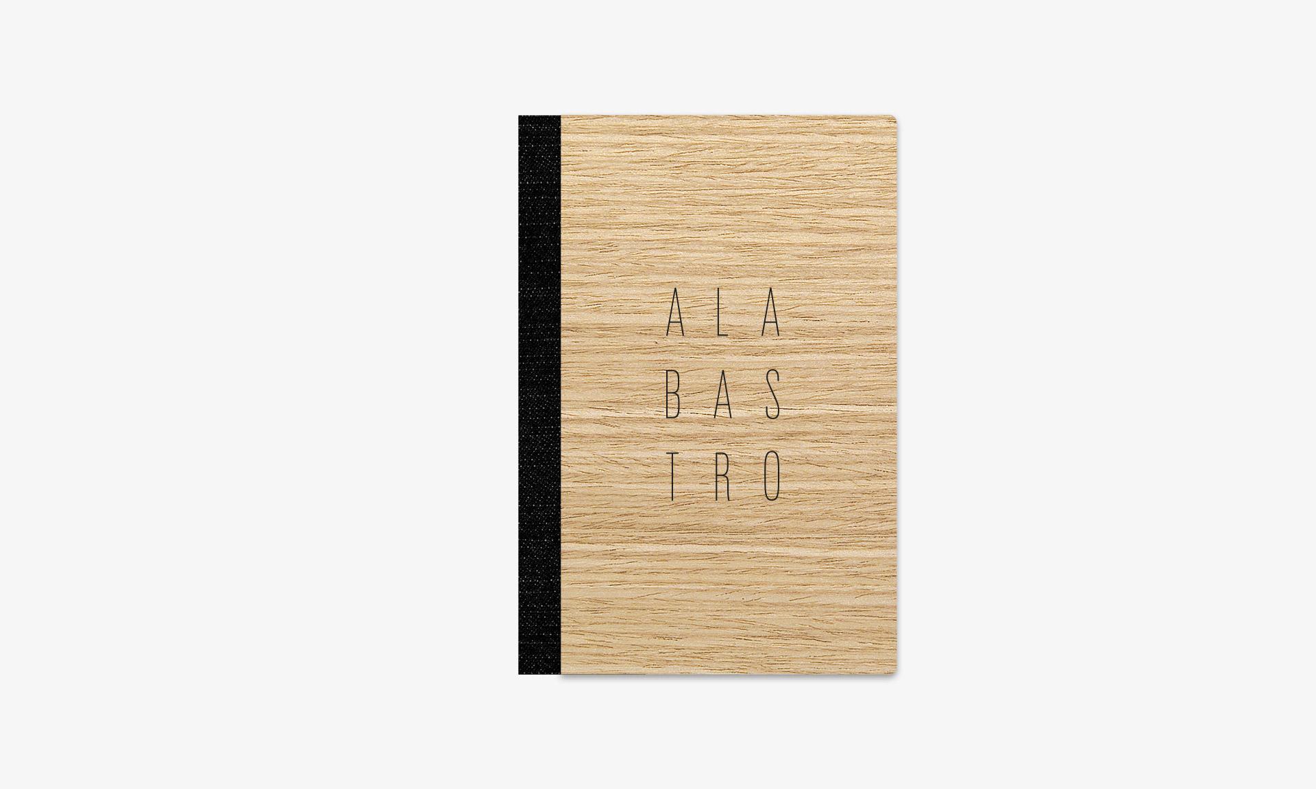 Aguas de Ibiza cartas Alabastro menú