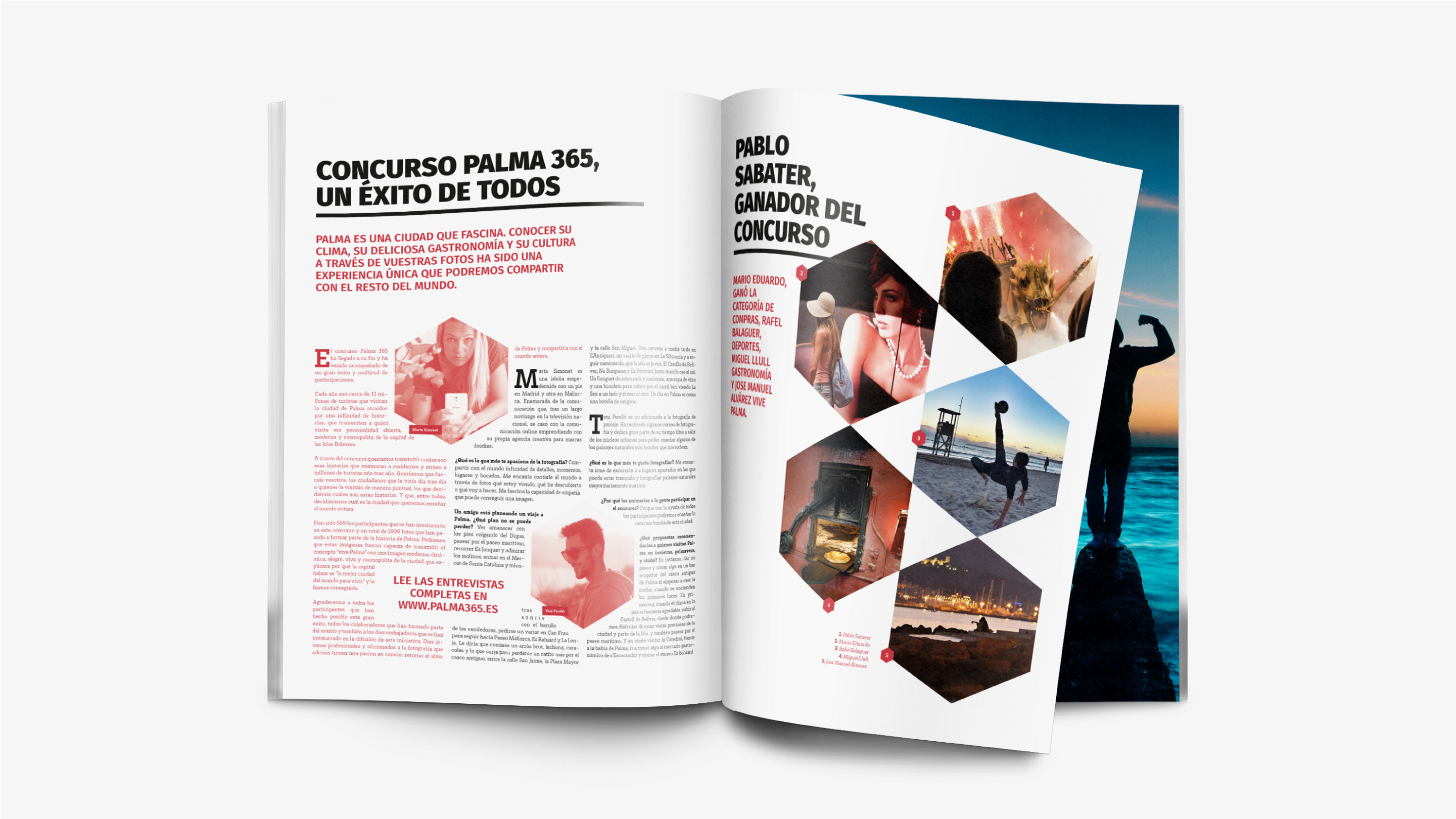 Concurso foto Palma 365 aplicaciones revista