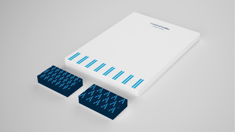 La Goleta Villas aplicaciones papelería