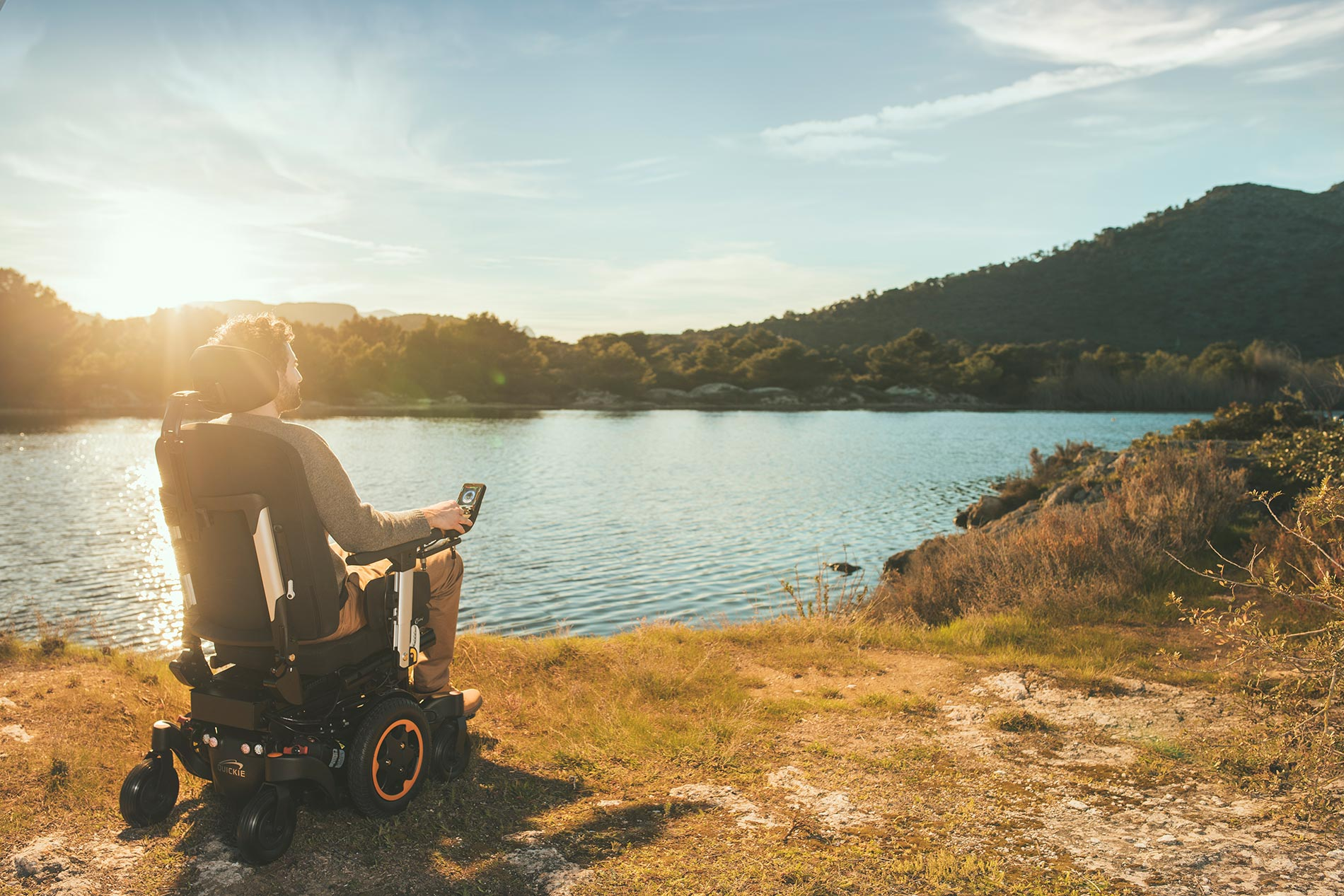 Sunrise medical sillas ruedas Q500-400