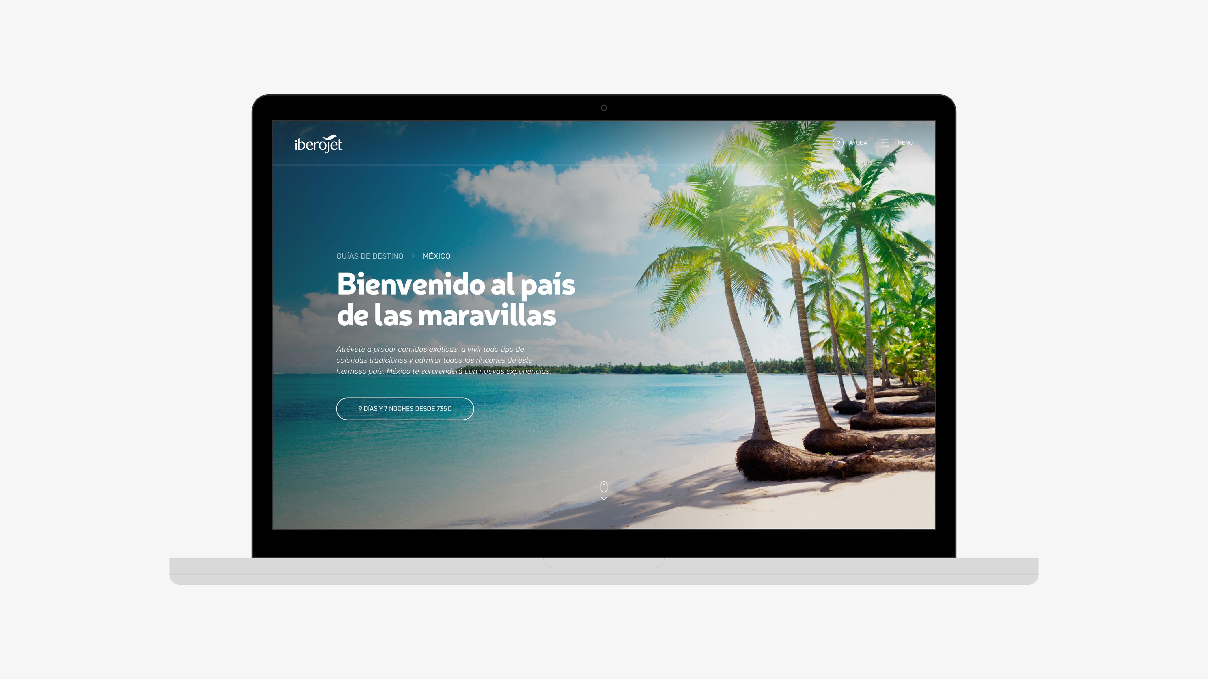 Iberojet guías viaje grupo Barceló web