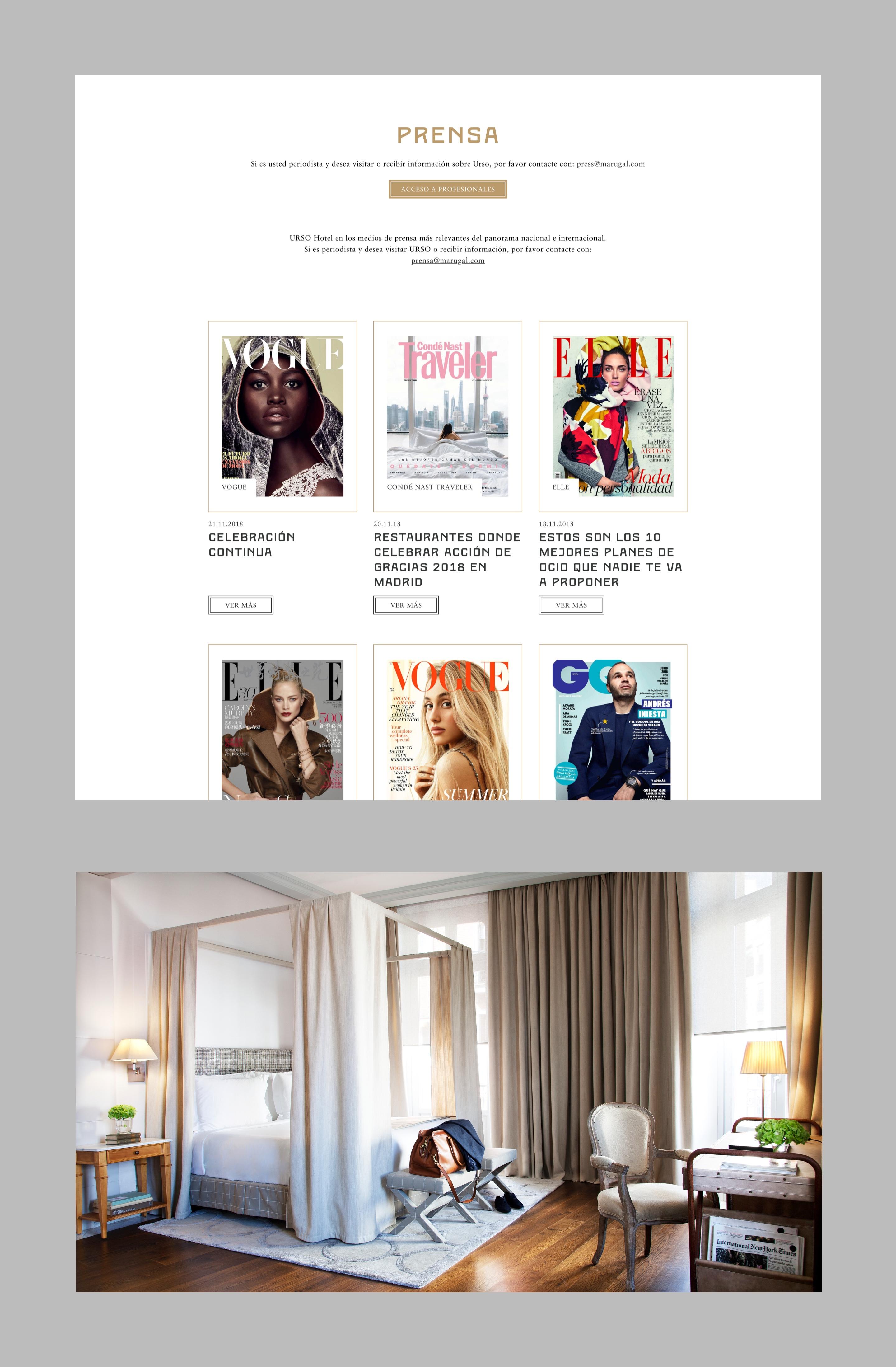 Urso hotel web detalle prensa