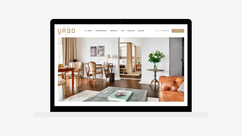 Urso hotel web home